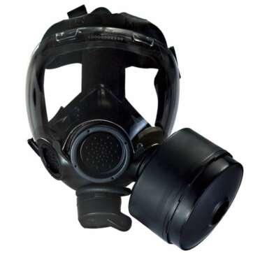 MSA Millennium CBRN Riot Control Gas Mask